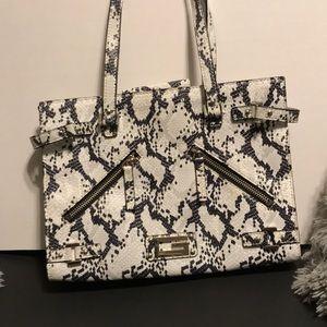 Guess snake skin purse